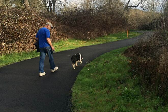 Rogue River Greenway Pleasant stroll