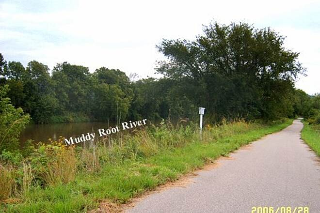 Root River State Trail East Bound About 3 miles west of Huston end.