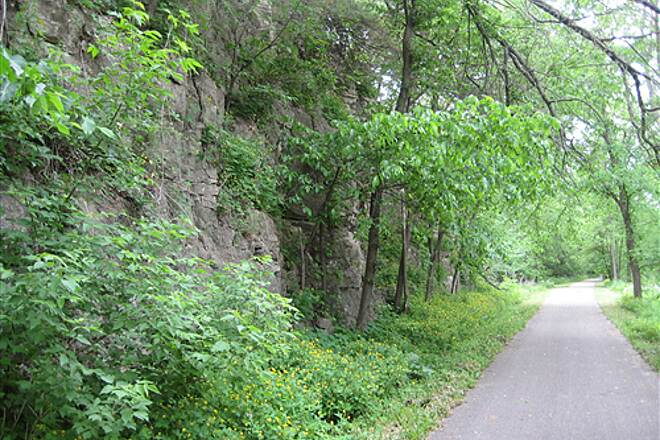 Root River State Trail Root River Root River Trail near Lanesboro