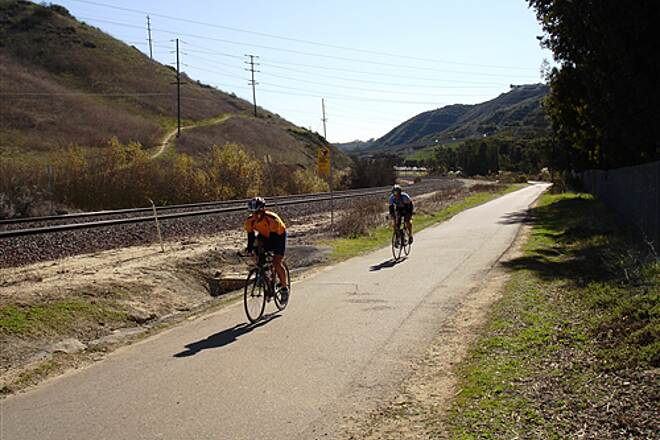 Rose Canyon Bicycle Path