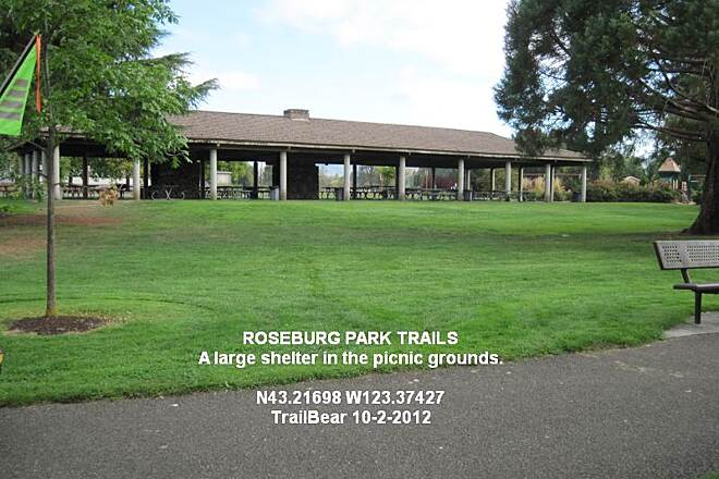 Roseburg Park Loop ROSEBURG PARKS LOOP Just the thing for a rainy day - and it makes a nice trail head.