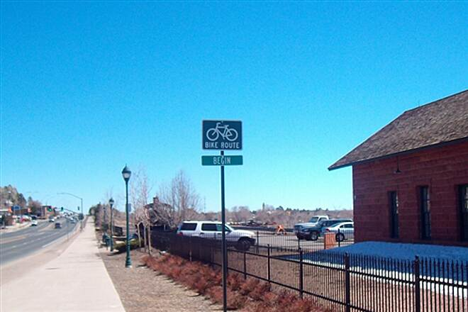 Route 66 Trail Route 66 Trail Start East bound.