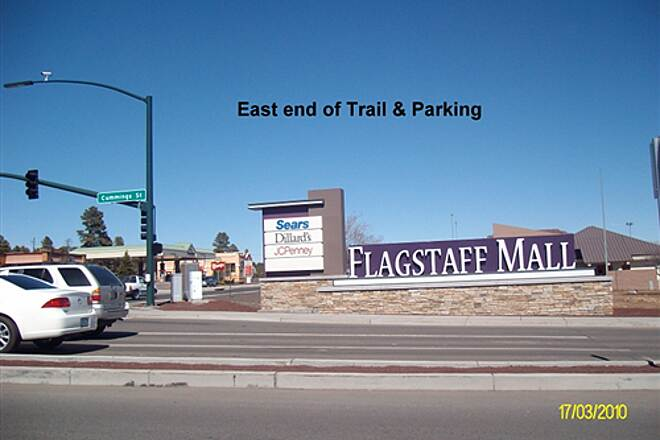 Route 66 Trail Route 66 Trail East end at Flagstaff mall