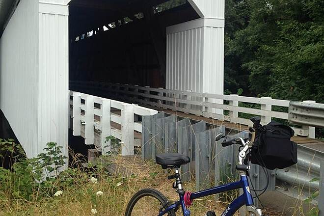 Row River Trail Mosby Creek Covered Bridge Saturday, July 25, 2015