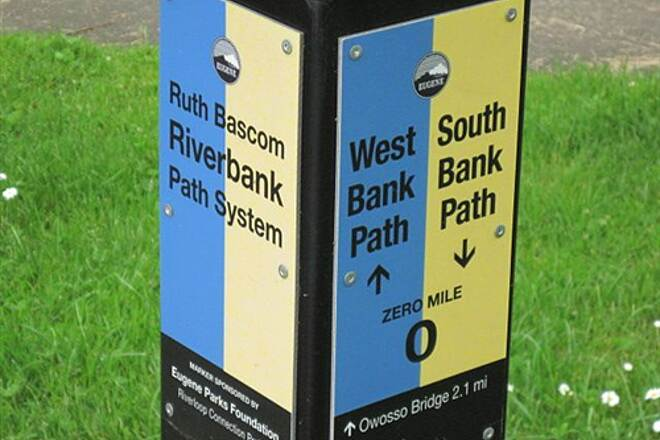 Ruth Bascom Riverbank Trail System THE RUTH BASCOM SYSTEM - WEST BANK PATH Trail End - 0 miles for West Bank and South Bank Paths