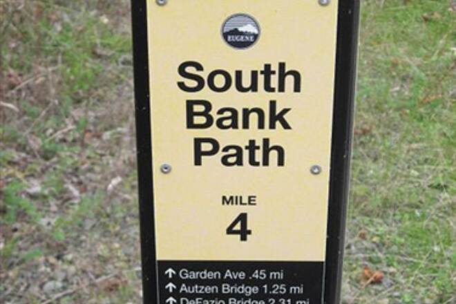 Ruth Bascom Riverbank Trail System SOUTH BANK PATH Trail end south at the Knickerbocker Bridge
