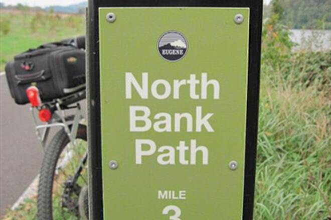 Ruth Bascom Riverbank Trail System RBRPS: EAST BANK & NORTH BANK PATHS Three mile post on the NBP