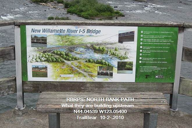 Ruth Bascom Riverbank Trail System RBRPS: EAST BANK & NORTH BANK PATHS An artist's rendering of the project