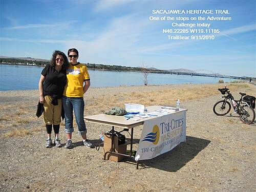 Sacagawea Heritage Trail SACAGAWEA HERITAGE TRAIL The Adventure Challenge - ride the route and get the goodies.