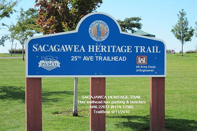 Sacagawea Heritage Trail SACAGAWEA HERITAGE TRAIL Access parking and benches here