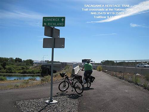 Sacagawea Heritage Trail SACAGAWEA HERITAGE TRAIL You cross the bridge into Kennewick