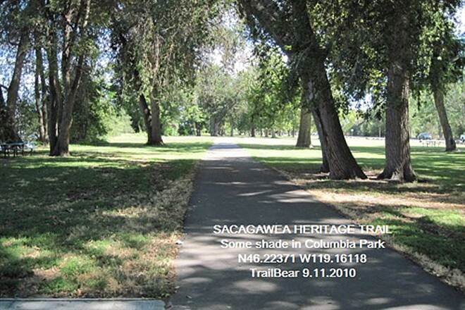 Sacagawea Heritage Trail SACAGAWEA HERITAGE TRAIL A bit of welcome shade