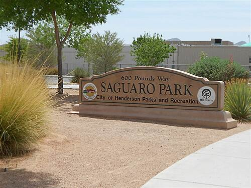 Saguaro Trail Saguaro Trail Parking for trail at Saguaro Park