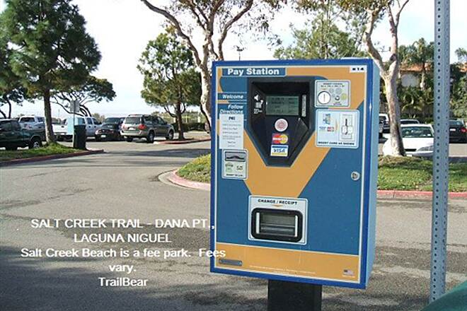 Salt Creek Trail (CA) SALT CREEK TRAIL Stop!  Pay fee!  (from $3 - $10/day)