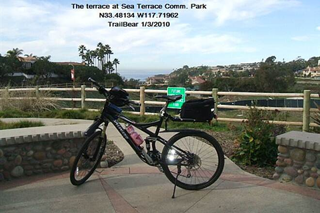 Salt Creek Trail (CA) SALT CREEK TRAIL Alternate route via Sea Terrace Park.
