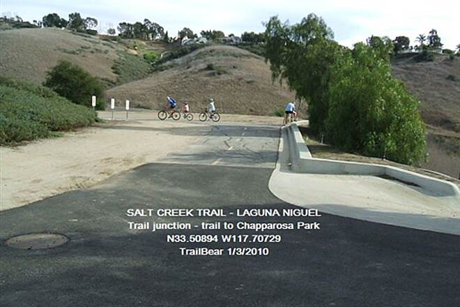 Salt Creek Trail (CA) SALT CREEK TRAIL The San Jose Canyon trail junction.