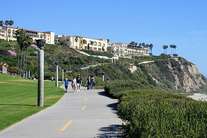 Salt Creek Trail (CA) Salt Creek Trail with the Ritz-Carlton in Dana Point in the background
