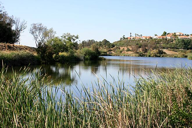 Salt Creek Trail (CA) Sulphur Creek Reservoir aka Laguna Niguel Lake