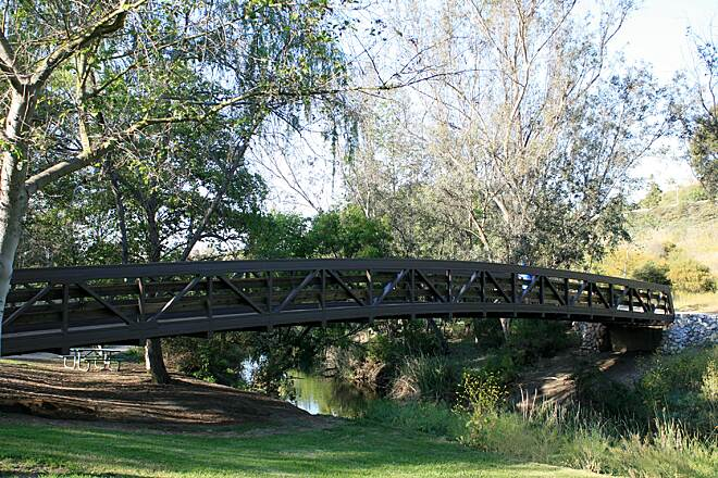 Salt Creek Trail (CA) Bridge over Sulphur Creek
