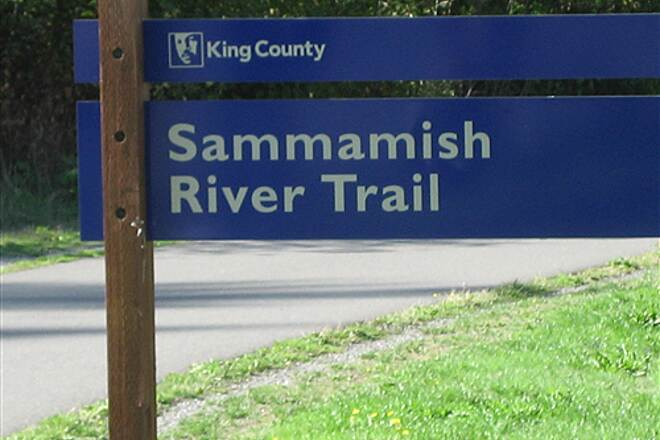Sammamish River Trail Sammashish Trail start Starting at Marymoore Park