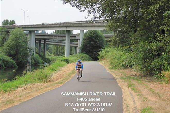 Sammamish River Trail SAMMAMISH RIVER TRAIL A freeway to go under.