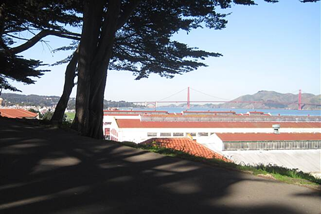San Francisco Bay Trail Fort Mason and Golden Gate Bridge Fort Mason and Golden Gate Bridge