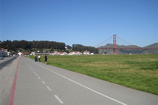 San Francisco Bay Trail Presidio and Golden Gate Bridge Presidio and Golden Gate Bridge