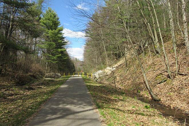 Sandy Creek Trail April, 2015 TRAIL the trail, April 2015
