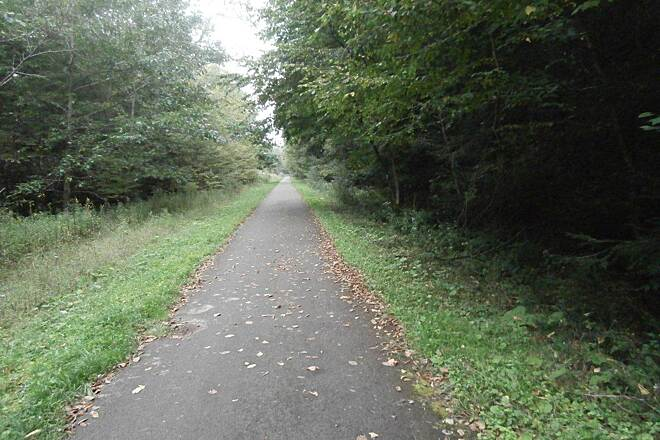 Sandy Creek Trail Trail-Sept. 2014 Nice paved trail-Sept 2014