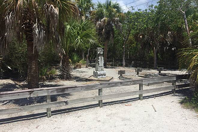 Sanibel Island Shared-Use Paths old cemetary