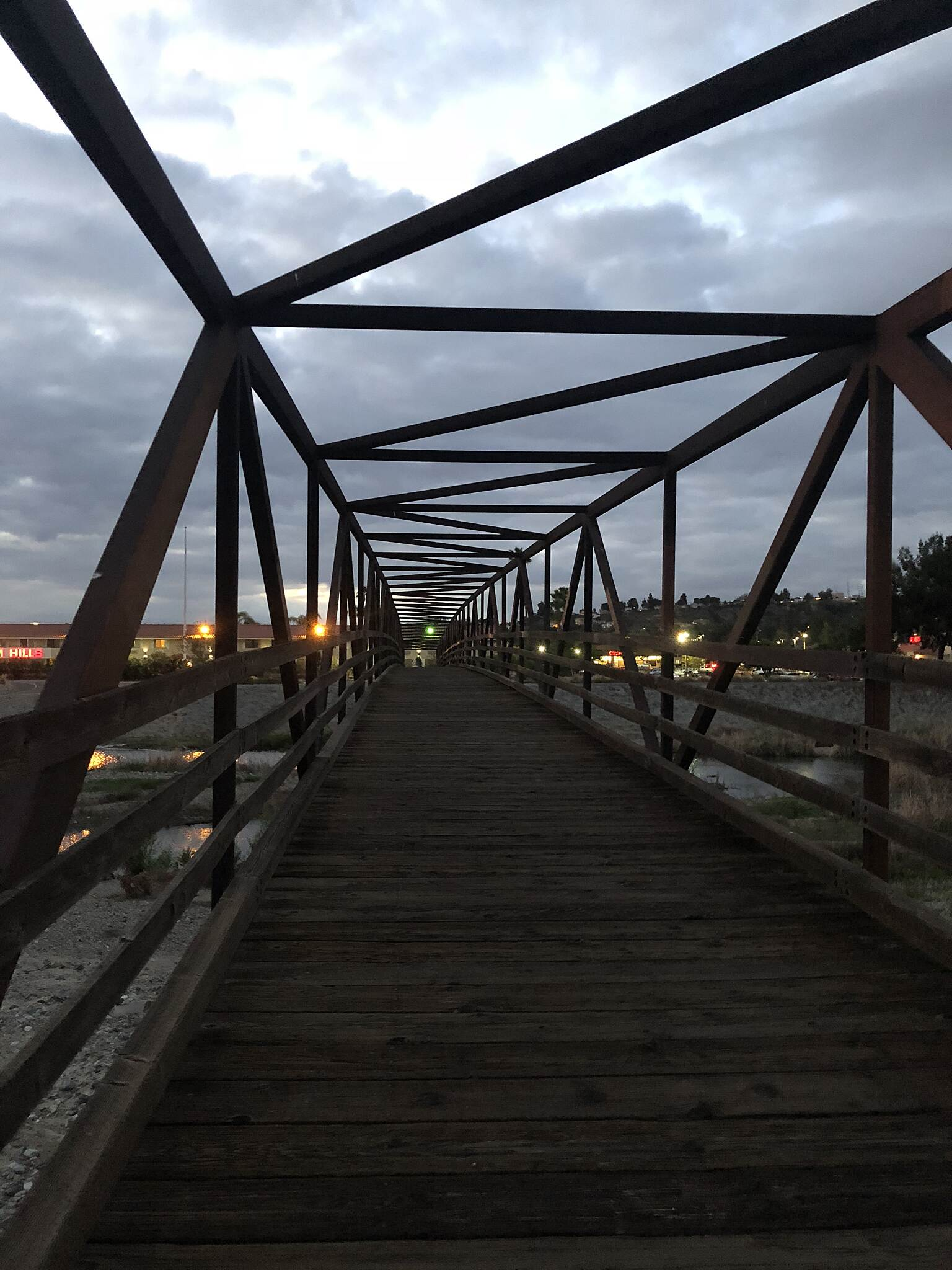Santa Ana River Trail Bridge  I love crossing this bridge during my runs!!