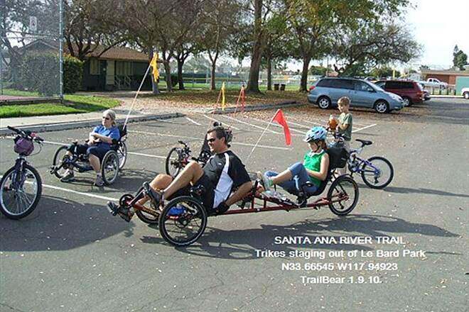 Santa Ana River Trail Santa Ana River Trail Trikes at Le Bard Park