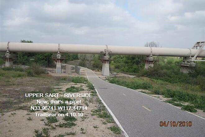 Santa Ana River Trail UPPER SART - RIVERSIDE Something larger in pipe crossings.