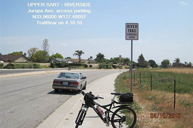 Santa Ana River Trail UPPER SART - RIVERSIDE The Jurupa Ave. access
