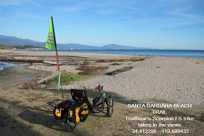 Santa Barbara Beach Trail SANTA BARBARA BEACH TRAIL Shackleton at the shore