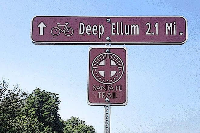 Santa Fe Trail (Dallas) SF Trail to Deep Ellum