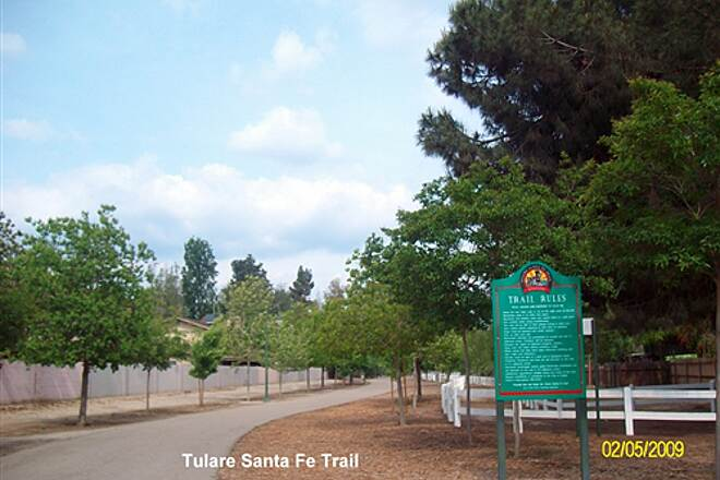 Santa Fe Trail (Tulare) Tulare santa Fe East side of Cherry St.