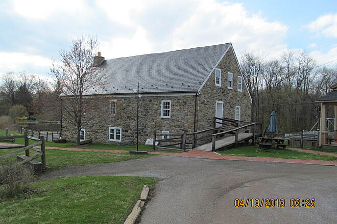 Saucon Rail Trail Historical Center Picture of the Hellertown Historical center