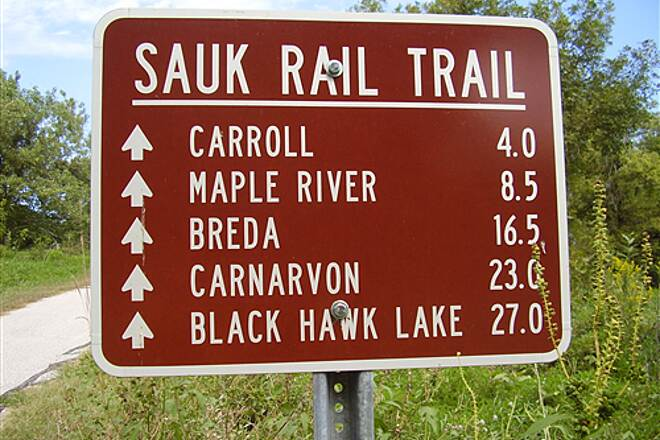 Sauk Rail Trail Sauk Rail Trail Paving Project is Complete
