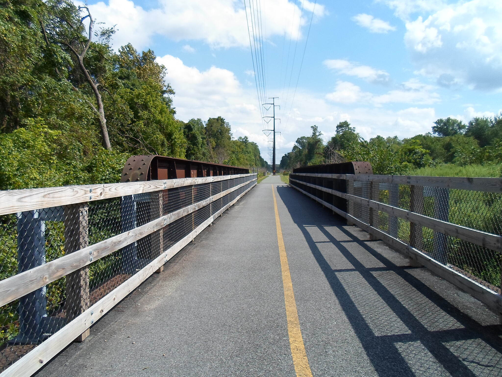Schuylkill River Trail Schuylkill River Trail Former railroad bridge converted to trail use on Spring City's north end. Taken Sept. 2014.