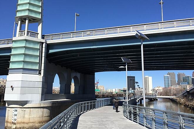 Schuylkill River Trail Schuylkill River Banks Boardwa March 2015