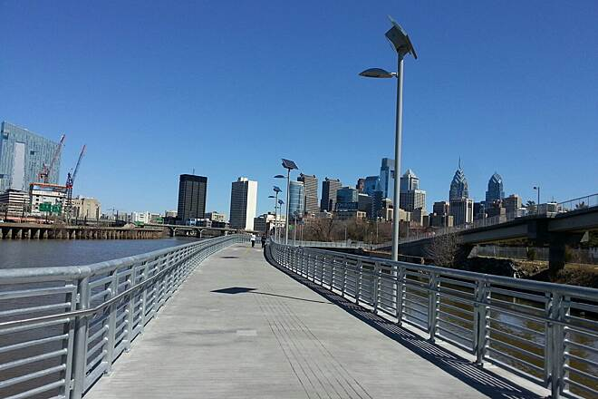 Schuylkill River Trail New Boardwalk