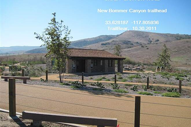 Shady Canyon Trail BOMMER CANYON TRAILHEAD A nice new trailhead in Bommer Canyon