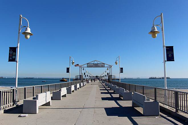 Shoreline Pedestrian/Bicycle Path Belmont Veterans Memorial Pier