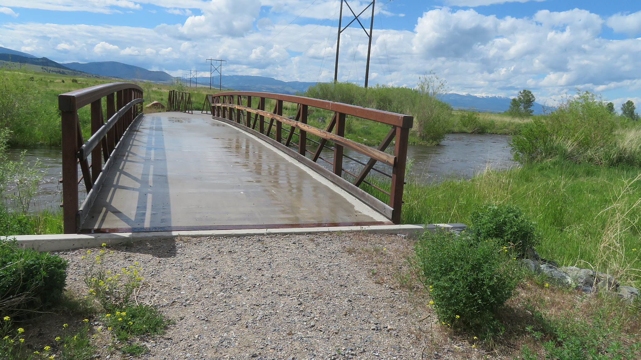 Silver Bow Creek Greenway Bridge Over Silver Bow Creek Southern end of Fairmont Rd to Crackerville Rd segment
