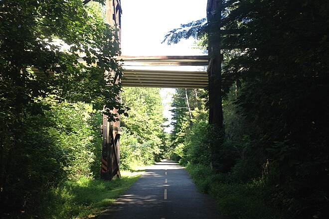 Silver Comet Trail Willow Springs Road Overpass Overpass at Willow Spgs Rd