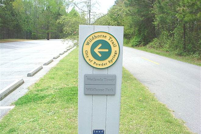 Silver Comet Trail White Horse Trail A nice short trail in powder springs