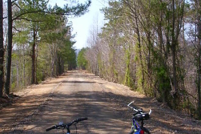Silver Comet Trail 12 Miles of bad road From AL state line to Tarrapin Creek is rock, dirt, mud or all three.  Very slow going.