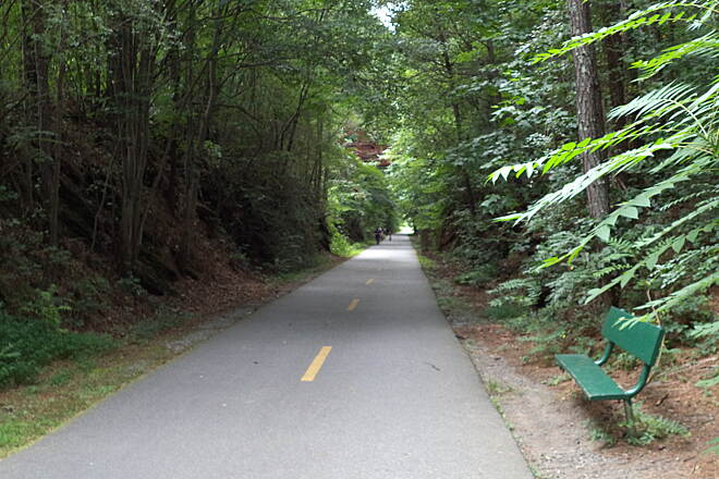 Silver Comet Trail Near Concord Rd. parking area Silver comet near Concord Road