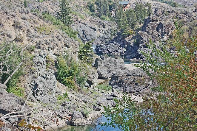 Similkameen Trail River Gorge Image and caption provided by Ted Murray
